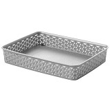 CURVER My Style Basket A4 [203398] - Alm Silver